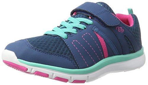 Brütting Crater Vs, Sneakers Basses Mixte Adulte Bleu (Marine/pink/tuerkis)