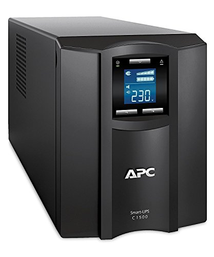 APC Smart-UPS SMC - SmartConnect - Gruppo di continuità (UPS) 1.500VA - SMC1500IC - Connesso al cloud, Line Interactive, AVR, 8 uscite IEC-C13, Software di Shutdown Powerchute