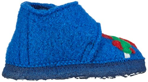 Nanga Looping, Chaussures Marche Bébé Garçon Bleu - Blau (mittelblau / 35)