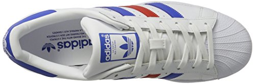 adidas Superstar Foundation Schuhe 6,5 white/blue/red - 7