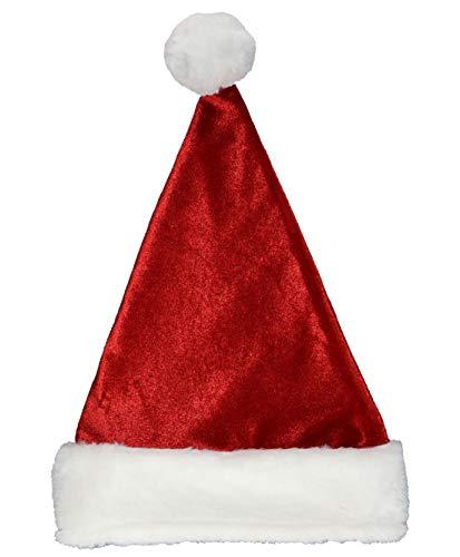 Islander Fashions Luxus Gef�HL Flauschige Nikolausm�TZE Unisex Weihnachtsfeier Tragen Kost�m Zubeh�r eine Gr��e