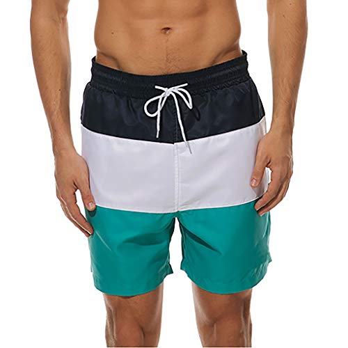 9d92ad0689 LOPILY Men's Fashion Wetsuit Fast-Drying Color Shorts Swimming Beach Shorts  Flower Surfboard Shorts Swi