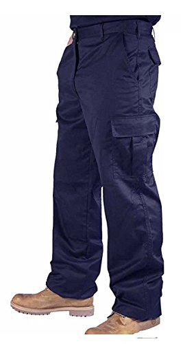 mcintyre-mens-polyester-cotton-cargo-combat-builders-warehouse-workwear-trouser-40-regular-navy