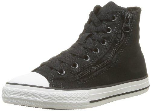 Converse Chuck Taylor All Star Rock Dz Hi, Baskets mode mixte enfant Noir (Noir/Anthracite)