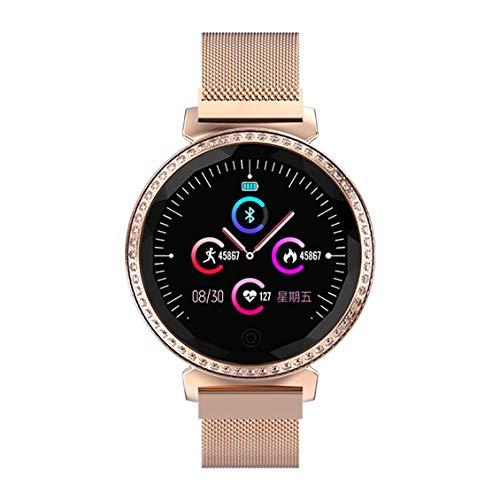 Preisvergleich Produktbild MC11 Fitness Tracker Frauen Smart Watch mit Female Reminder Diamond Smart Band