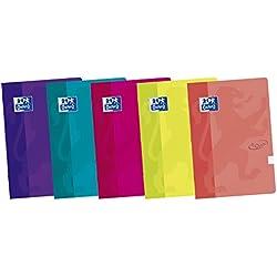 Oxford Touch - Pack de 10 libretas grapadas de tapa blanda, A4