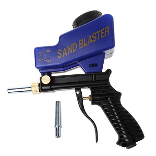 Qiman Portable Gravity Sandblasting Gun Machine Abrasive Pneumatic Set Removing Spot Rust Blasting Device