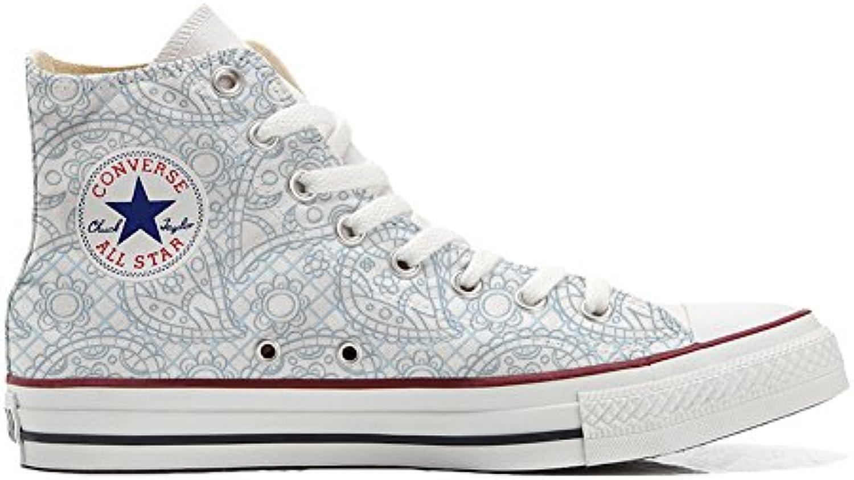 Converse All Star personalisierte Schuhe (Handwerk Produkt) Sky Paisley