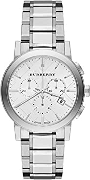Burberry The City Stainless Steel Chronograph Ladies Watch BU9750