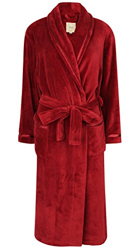Robe de Chambre en Polaire Doux Ornée de Rubans (L)