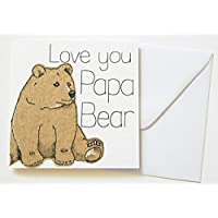 Love you Papa Bear Birthday/Father's day card