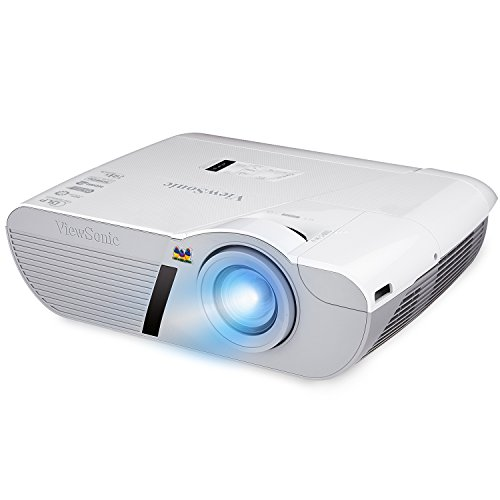 Viewsonic  LightStream PJD7830HDL 1080p Home Cinema Projector (3200 Lumens, 3D, HDMI/MHL) - White