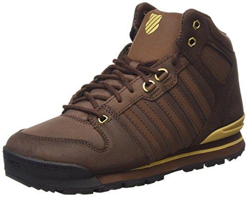 K-SwissSi-18 Premier Hiker - Sneaker uomo , Marrone (Braun (Chestnut/Prairie Sand 285)), 41