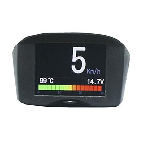 Voiture Numérique Compteur de vitesse d'alarme Autool X50Plus OBD II