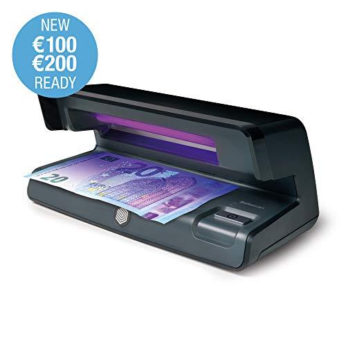 Safescan 50 Black - Verificatore di contraffazione UV per la verifica di banconote, carte di credito e documenti d'identità.