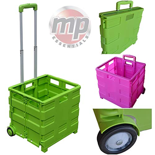 Motionperformance Essentials Heavy Duty 40kg Pack & Go Foldable Portable Shopping Camping Transport Trolley Test