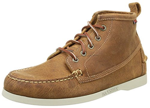 SebagoBeacon - Scarpe da Barca Uomo, - brun (brown Leather), 44