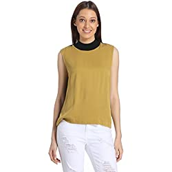 VERO MODA Women's Body Blouse Top (1772028001_Bronze Mist_L)