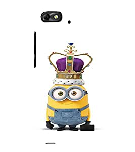 EPICCASE Minion King Mobile Back Case Cover For Huawei Honor 4C (Designer Case)