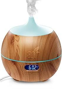 artnaturals aroma diffuser f r therische le luftbefeuchter mit bluetooth lautsprecher und. Black Bedroom Furniture Sets. Home Design Ideas