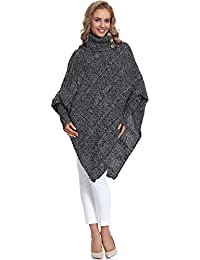 Merry Style Mujer Poncho Carla