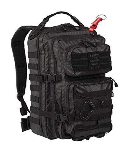 Assault Pack Tactical 36L New Style + Karabiner + Skull Stopper Rucksack + AOS-Outdoor® Flaschenöffner