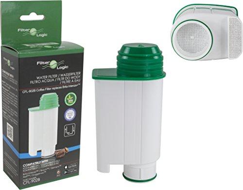 FilterLogic CFL-902B - Wasserfilter ersetzt Saeco Nr. CA6702/00 - Brita ® Intenza+ Wasserfilterkartusche für Saeco / Philips / Gaggia Kaffeemaschine - Kaffeevollautomat
