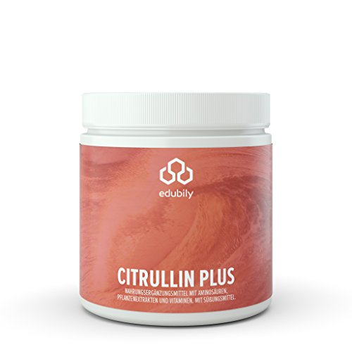 Citrullin Plus, Pre-Workout Pump Supplement, L-Citrullin-Malat, Taurin, Vitamine, Metafolin & Pflanzen-Extrakte, nur mit Stevia gesüßt, 360 g