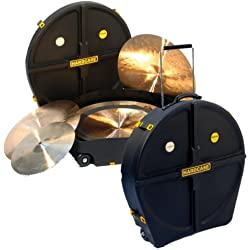 HARDCASE 24 CYMBAL CASE - HNPROCYM Drum accessories Bags - cases