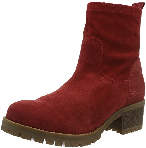 s.Oliver Damen 25433 Kurzschaft Stiefel Rot (Red 500)