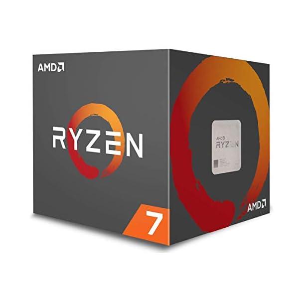 AMD YD270XBGAFBOX Ryzen Processor with Wraith Prism RGB LED Cooler 41WU 2B432f 2BL