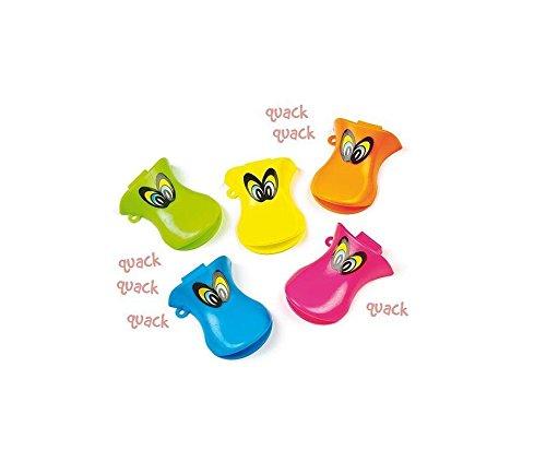 jushen 12Cute tolle Party Jungen und Mädchen Duck Quacker Pfeifen (zufällige Farbe)