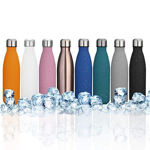 4204562243 KING DO WAY 500ml Bouteille D'eau Isotherme Mug Flasque Réutilisable En  Acier Inoxydable Pour