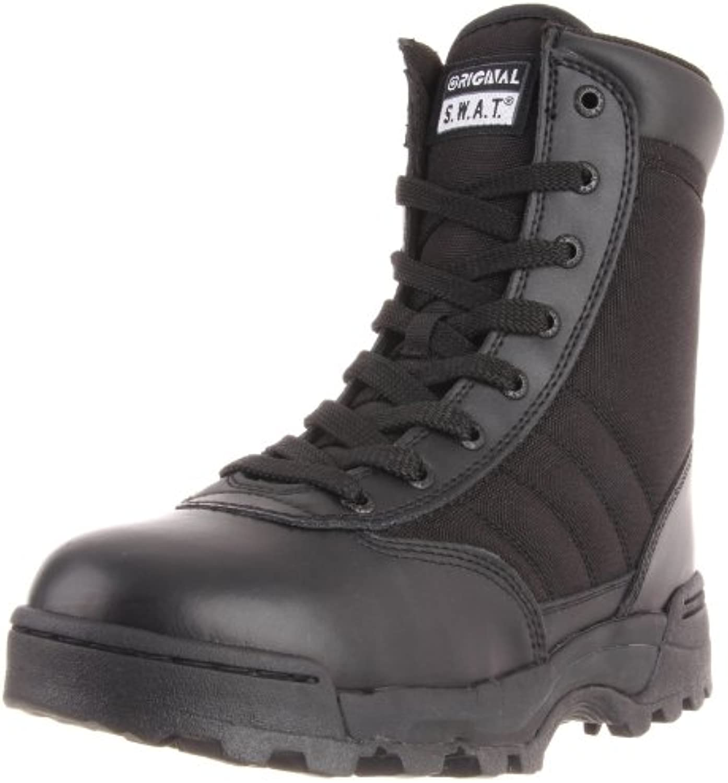 Original SWAT Uso Botas 1152 Side Zip Negro Negro Talla:41 UE
