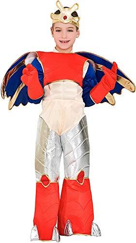 Costume di carnevale da guerriero di gorm coda dacciaio vestito per ragazzo bambino 7-10 anni travestimento veneziano halloween cosplay festa party 7401 taglia 8/m