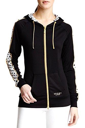 isaac-mizrahi-womens-sport-poka-dot-long-sleeve-hoodie-black-white-small