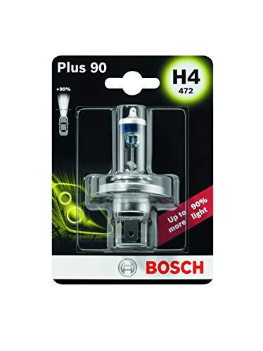 Bosch Autolampe H4 Plus +90