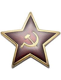 Gudeke CCCP estrella Roja Pin Ussr Insignia de la Unión Soviética