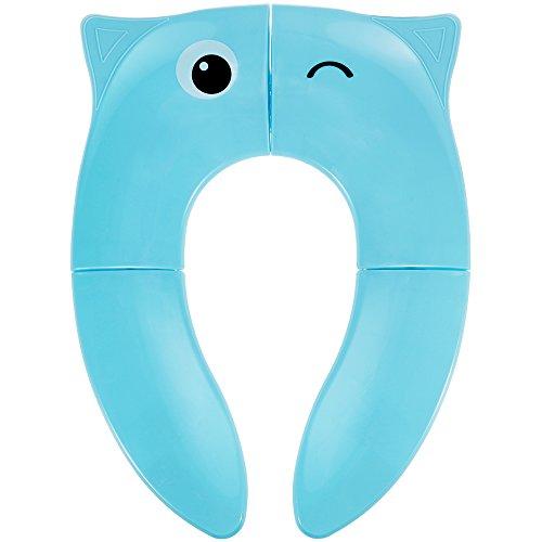 Lictin Riduttore WC per Bambini Viaggia Portatile Pieghevole Riutilizzabili Sedile Potty Training Con Borsa di Stoccaggio