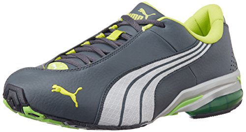 e10f2819ed5c77 Puma 18792203 Men S Jago Ripstop Dp Dark Shadow White Lime Punch Running  Shoes 8 Uk- Price in India