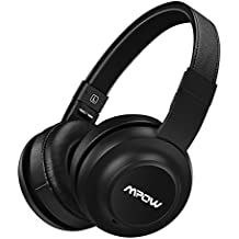 Mpow H2 Bluetooth Auriculares de Diadema Cerrados Inalámbricos Headphone Plegable Manos Libres y Cable de Audio con 4 Modos de EQ Sonido 20 horas Reproducción de Música para IPhone 7 Plus, 6, 6s, Samsung Sony Huawei Movil, PC, Mac y TV