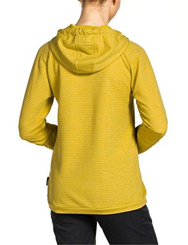 Jack Wolfskin Damen Fleecepullover Tongari Nanuk Hoody W Yellow Moss
