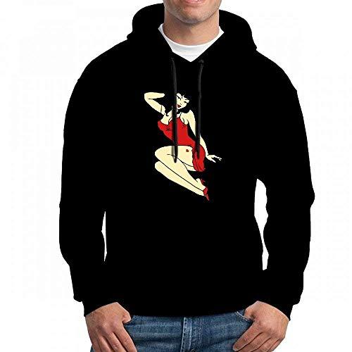 Sweatshirt for men retro pin up girl 50s tattoo pinup shirts hoodie