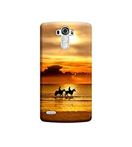 Ebby Premium Printed Back Case Cover With Full protection For LG G4 (Designer Case)