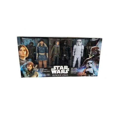 Star Wars Rogue One - Pack de 6 figuras 30 cm