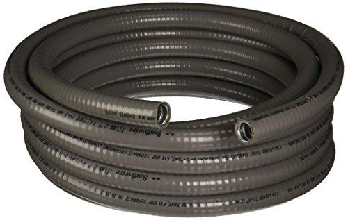 Southwire 55082621Liqua Flex 1/2-inch-by-25-foot Flexible Liquidtight Metallic Conduit