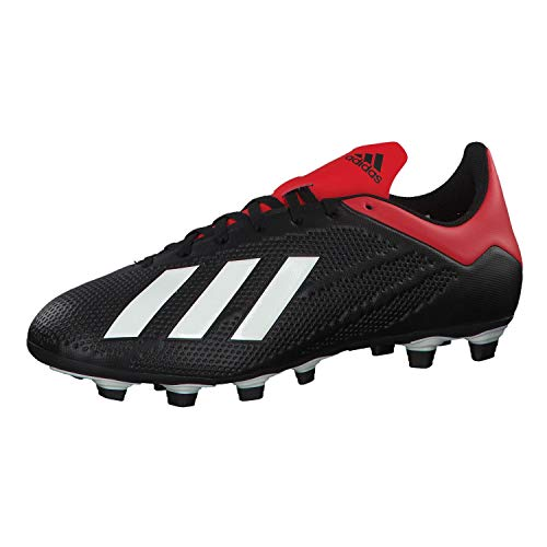 adidas Herren X 18.4 Fg Fußballschuhe, Mehrfarbig (Negbás/Casbla/Rojact 000), 44 EU