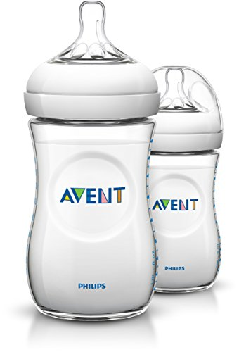 Philips Avent SCF693/27 Set de 2 Biberons Natural 260 ml
