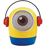 QUALE Cartoon-Minion Portable Wireless Bluetooth Speaker Compatible With Apple Iphone 3GS / 4 / 4S / 5 / 5c / 5S / 6 / 6 Plus / 6s / 6s Plus / 7 / 7 Plus / SE