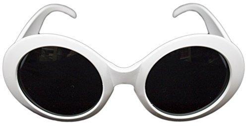 FORUM Novelties Mod Sixties getönte Gläser, Weiß